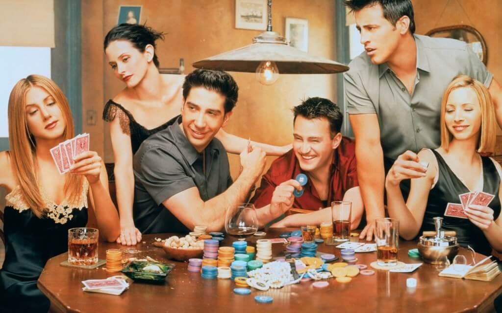 """2014 36 friends cast poker - Crítica nostálgica da hilária série """"Friends"""" (1994-2004), na NETFLIX"""