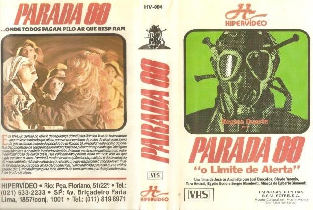 """parada 88 o limite de alerta joel barcellos jose de anchie D NQ NP 985875 MLB26946247420 032018 F - Rebobinando o VHS - """"Parada 88 - O Limite de Alerta"""" (1977), pioneiro SCI-FI brasileiro"""