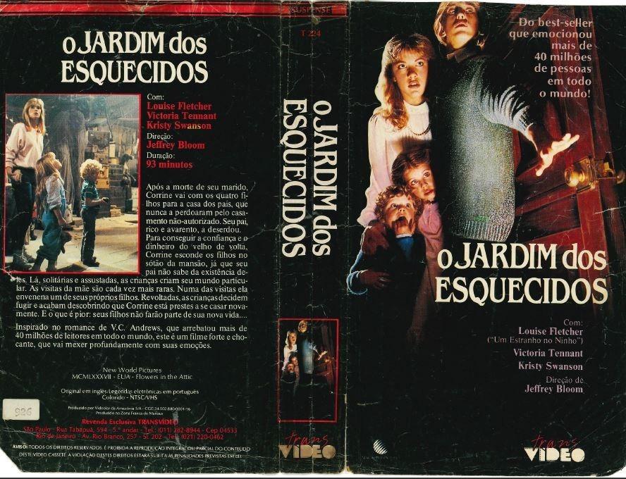 """vhs o jardim dos esquecidos louise fletcher kristy swanson D NQ NP 747066 MLB27003154540 032018 F - Rebobinando o VHS - """"O Jardim dos Esquecidos"""" (1987)"""