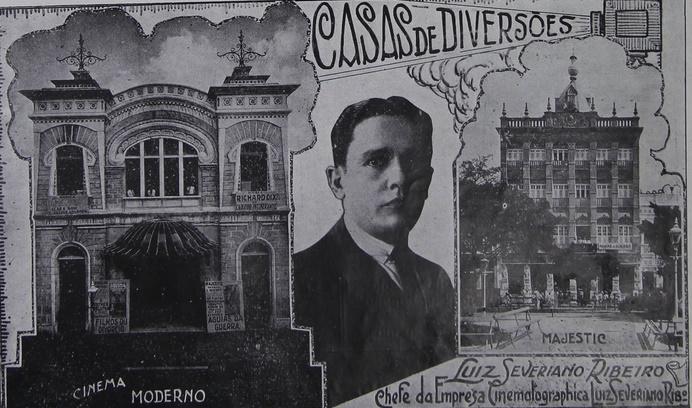album de fortaleza 1930 cinemas - Entrevista exclusiva com Germana de Lamare, neta de LUIZ SEVERIANO RIBEIRO