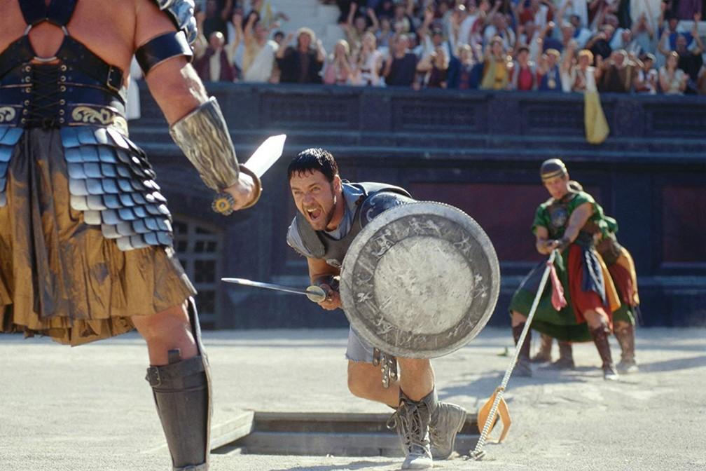 """gladiador - A força de caráter em """"Gladiador"""", de Ridley Scott, na NETFLIX"""