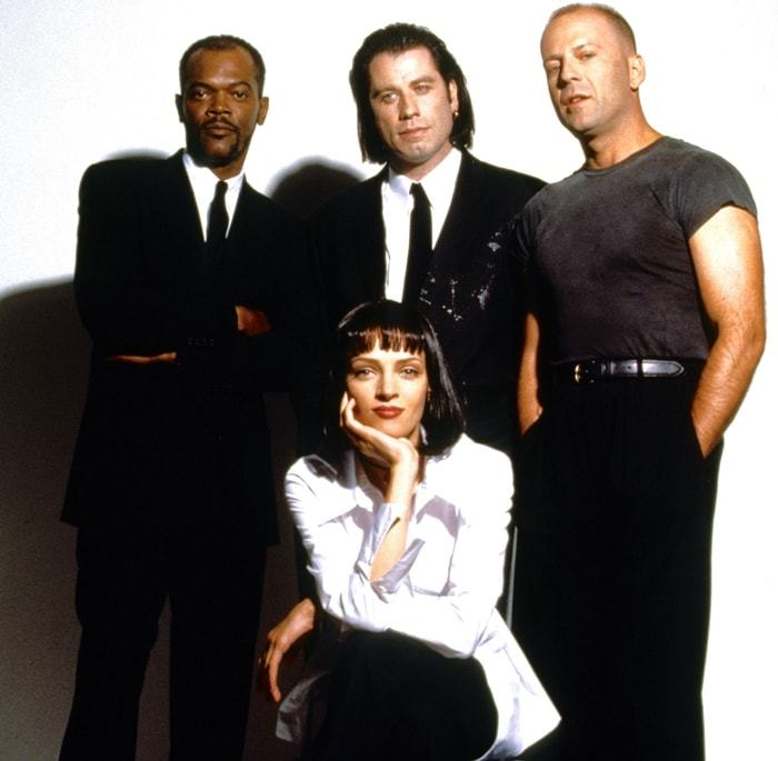 "Pulp Fiction Cast - ""Pulp Fiction"", de Quentin Tarantino, na AMAZON PRIME"