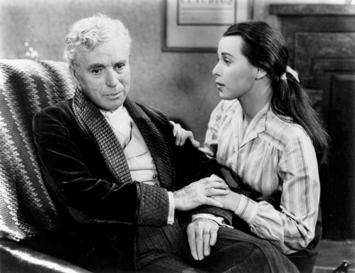 Charlie Chaplin Claire Bloom Limelight scaled - FRASES maravilhosas do eterno mestre CHARLES CHAPLIN