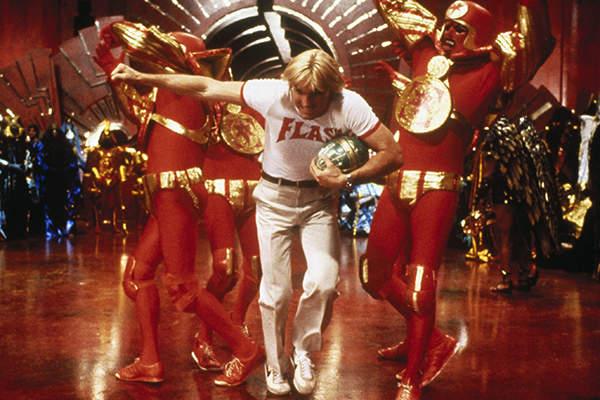 "flash gordon 1980 - ""Flash Gordon"", de Mike Hodges, no NOW"
